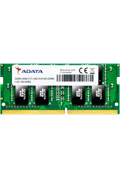 Adata Premier 4GB 2400MHz DDR4 Ram AD AD4S2400J4G17-S