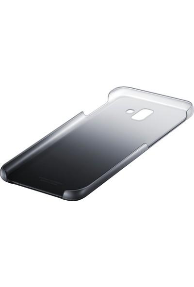 Samsung Galaxy J6+ Koruyucu Kılıf - (Siyah)-EF-AJ610CBEGWW