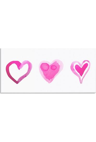 Görsel Tasarım Aşk %100 Pamuk Kanvas Tablo