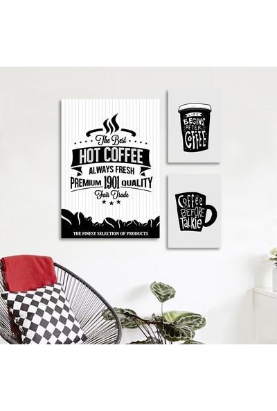 Vetro Design Coffee Mdf Tablo