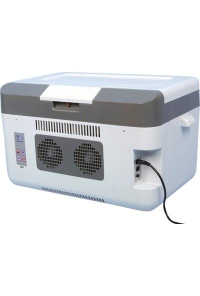 Icepeak Hagen22 Elektrikli/Dijital Oto Buzdolabı 12/220V 22 Lt
