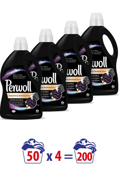 Perwoll Mix Black Ecom 3 lt x4