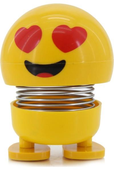 Familya Shop Zııp Zıpp Kafalar, Sevimli Kafa Sallayan Emoji, Aşık