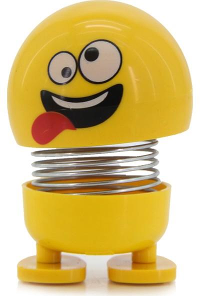 Familya Shop Zııp Zıpp Kafalar, Sevimli Kafa Sallayan Emoji, Şaşkın