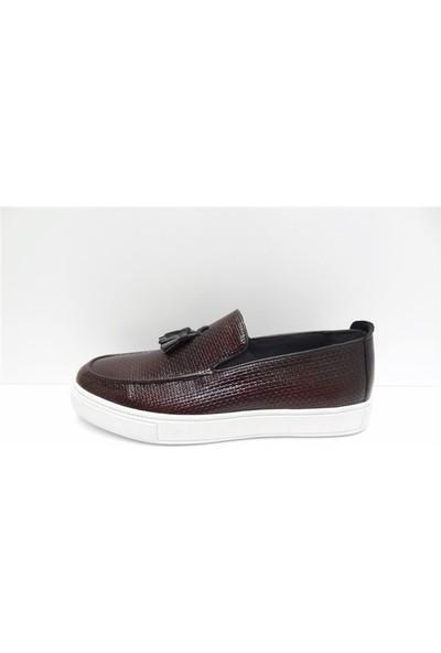 King Shoes Büyük Numara Klasik Görünümlü Günlük Ayakkabı