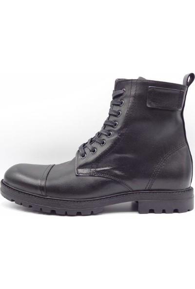 King Shoes Büyük Numara, Kürklü Bot