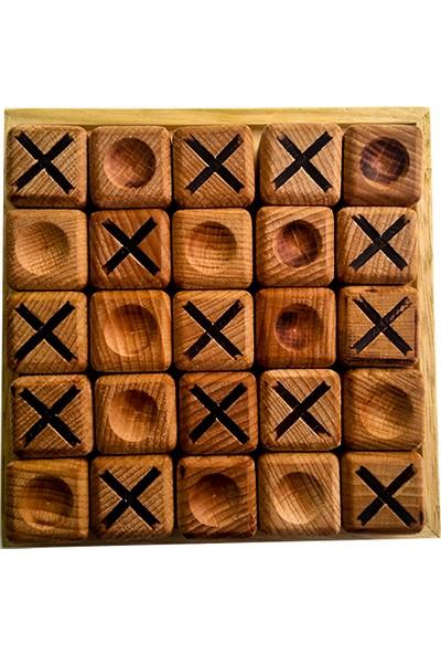 Hobi H.E.D. XOX Ahşap Küp Quixo Oyunu