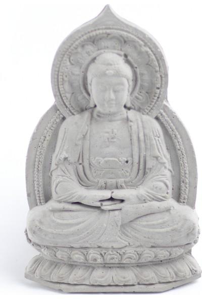 Skal Collective Beton Buddha Duvar Süsü