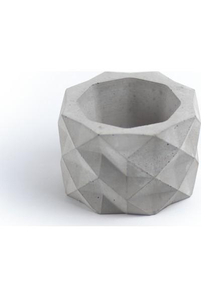 Skal Collective Geometrik Beton Saksı