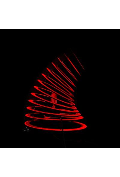 Woodact Pinus Dekoratif Masa Lambası