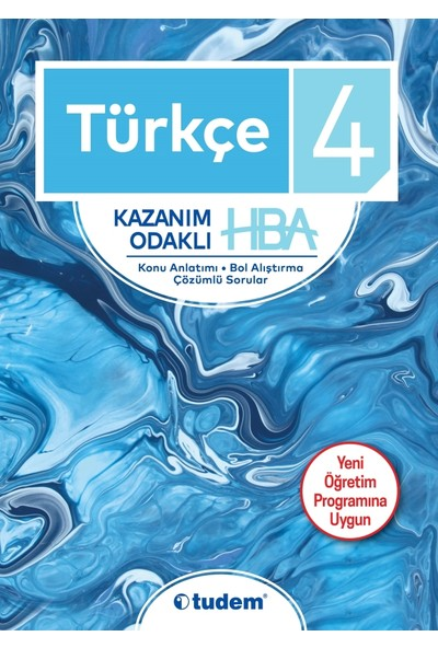 Tudem 4 Türkçe Kazanım Odaklı Hba