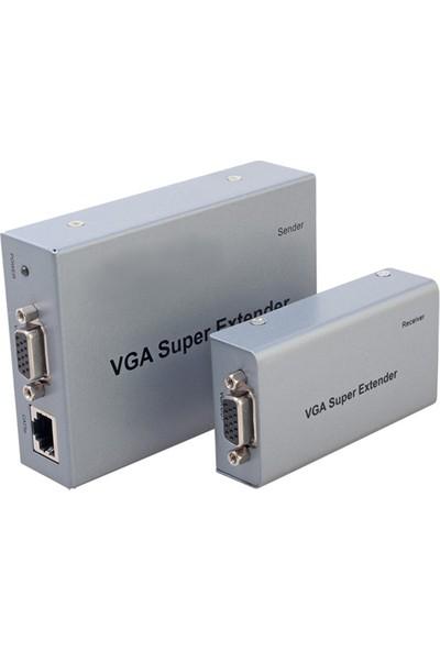 Balandı Bd-1140V Vga Extender Sesli 200Mt Cat5/6