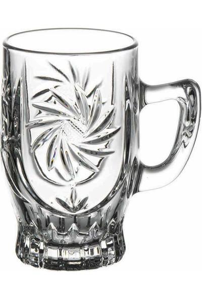 Paşabahçe Elmas Kulplu Çay Bardağı 6'Lı 155Cc 55881