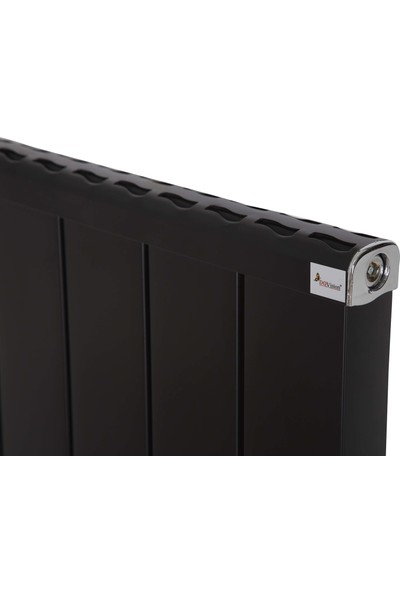 Dgvision Feronia Alüminyum Siyah Radyatör 60*120 Cm Petek