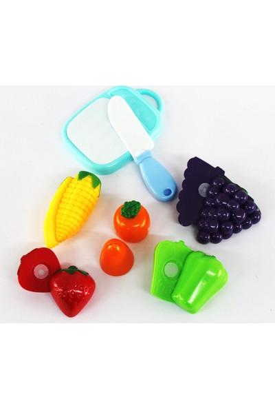 Özmiş Oyuncak Sebze Meyve Seti 12 Parça