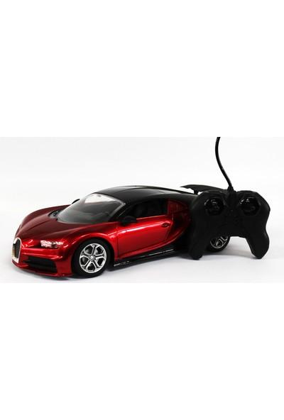Toys Oyuncak Uzaktan Kumandalı Araba Bugatti Şarjlı Kırmızı Renk