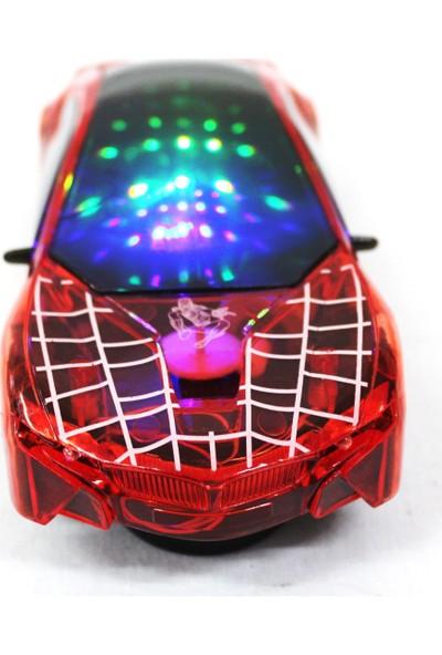 Toys Oyuncak Işıklı Müzikli 3D Led Araba