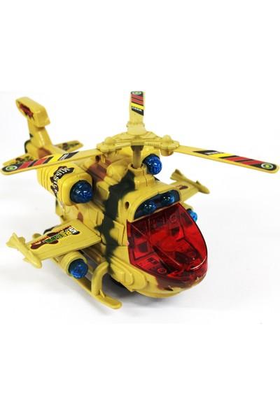 Toys Oyuncak Askeri Helikopter Işıklı Müzikli