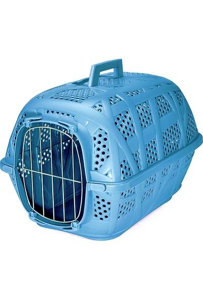 Imac Carry sport kedi köpek taşıma çantası gök mavisi 48.5x34x32 cm