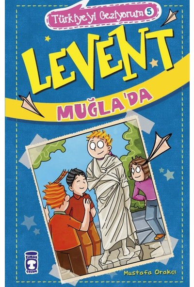 Levent Türkiye'yi Geziyorum - 5 Set (5 Kitap) - Mustafa Orakçı