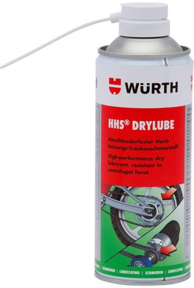 Würth HHS Drylube Kuru Zincir Yağlayıcı 400 Ml. Made in Germany