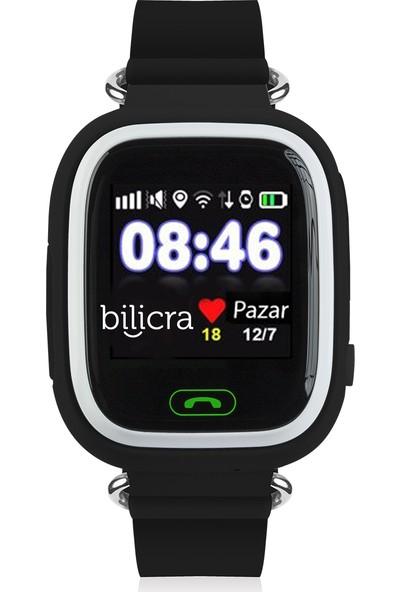 Bilicra BLC 101 Akıllı Çocuk Saati - Siyah Beyaz