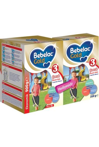 Bebelac Gold 3 Çocuk Devam Sütü 1250 gr (900 gr+350 gr)