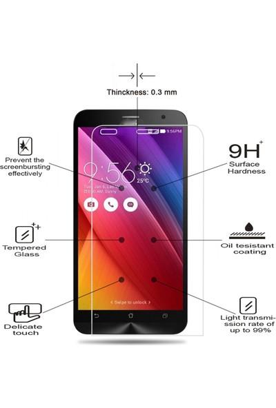 Case 4U Huawei P9 Lite Mini 2017 Temperli Cam Ekran Koruyucu