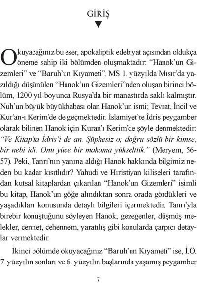 Hanokun Gizemleri & Baruhun Kıyameti