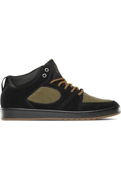 Es Accel Slim Mid Black Brown Ayakkabı