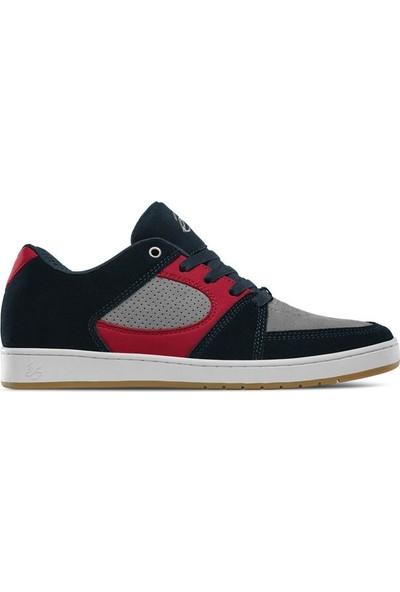 Es Accel Slim Navy Grey Red Ayakkabı