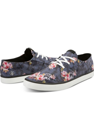 Volcom Lo Fi Shoe Angled Bleach Wash Ayakkabı