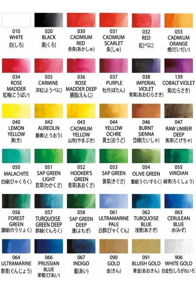 Zig Suluboya Pigment Gansai Tambi Mc20/36V 36'lı