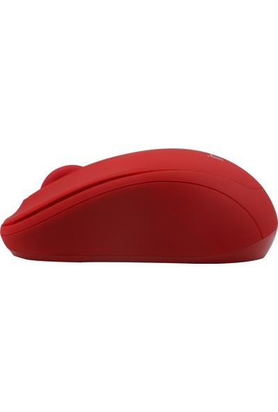 Inca IWM-331RK Silent Wireless Sessiz Mouse - Kırmızı