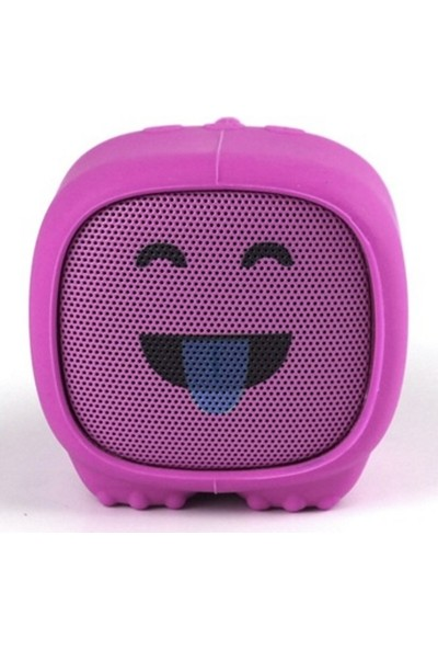 Dino Pembe Bluetooth Hoparlör - Şakacı