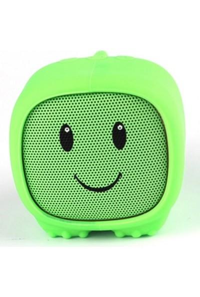 Dino Yeşil Bluetooth Hoparlör - Mutlu