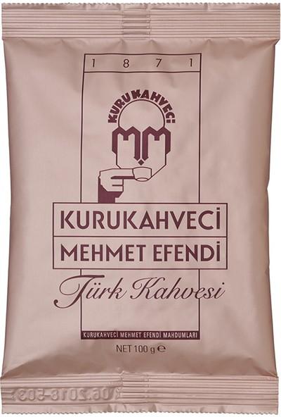 Kurukahveci Mehmet Efendi Türk Kahvesi 100 gr - 10 Paket