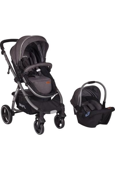 Kraft Fit 2 Travel Bebek Arabası - Gri