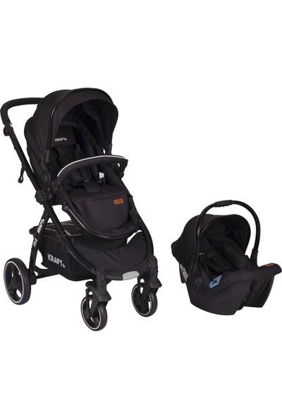 Kraft Fit 2 Travel Bebek Arabası - Siyah