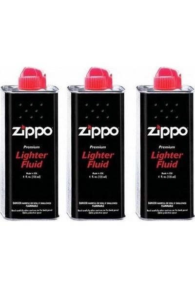 Zippo Çakmak Gazı (Zippo Benzini)3Lü