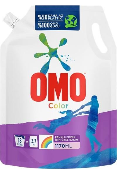 Omo Pouch Sıvı Deterjan Color 1170 ml
