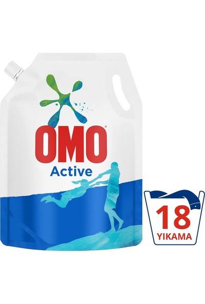 Omo Pouch Sıvı Deterjan Active 1170 ml