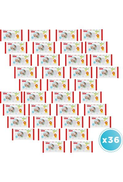 Fisher-Price Islak Havlu 36'lı Jumbo Paket (2016 Yaprak)