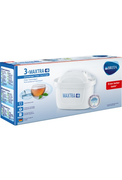 Brita Maxtra Plus Su Arıtma Filtresi Üçlü