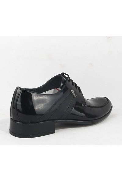Martınez 174 Erkek Klasik Rugan Ayakkabı Siyah