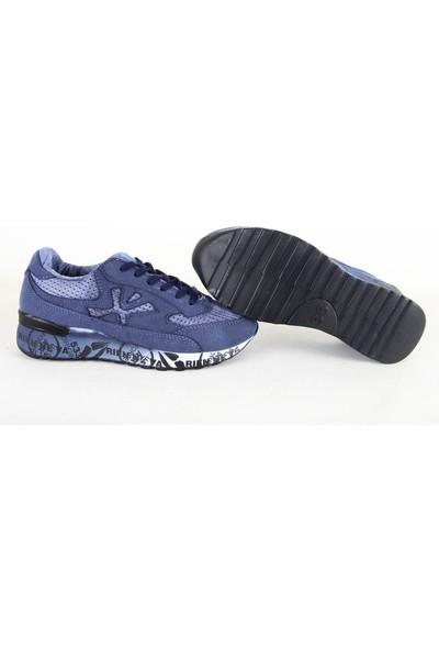 Texin 534 Airmax Garson Spor Ayakkabı Lacivert