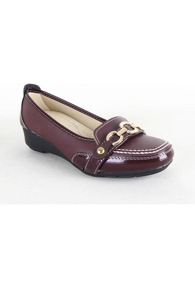 Wanetti Bayan Günlük Ayakkabı 112 Bordo