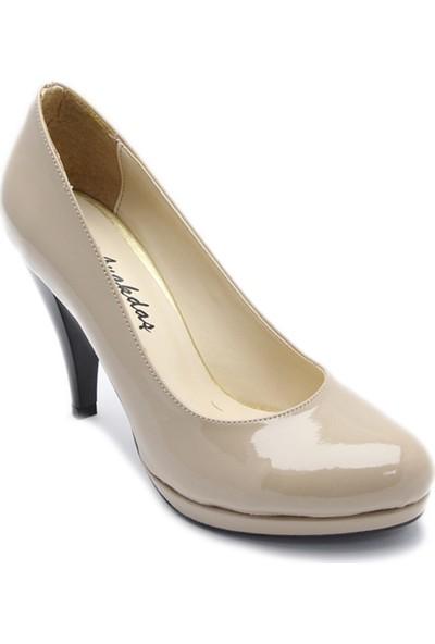 Ayakkabı Platform Rugan Vizon