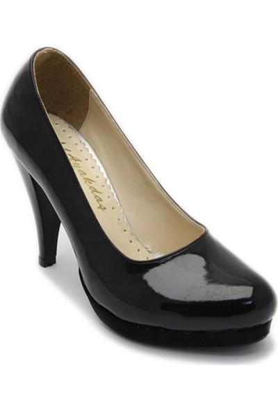 Ayakkabı Platform Rugan 1 Siyah