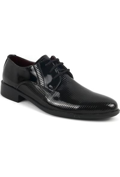 Zeki Narin 431-01 Erkek Klasik Ayakkabı Siyah